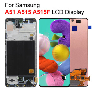 For Samsung A51 A515 A515F LCD Display Touch Screen Digitizer Replacement Parts For Galaxy A51 LCD
