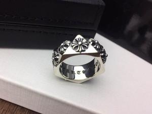 Populaire marque de mode anneaux concepteur croix CH pour dame homme Design et femmes de soirée de mariage Lovers cadeau de luxe Hip hop Bijoux