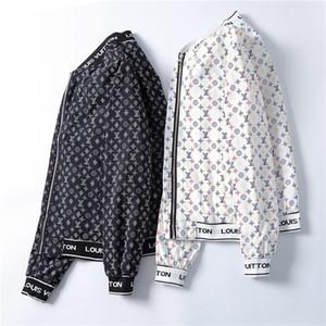 Spring Summer Fashion Men Full Sleeve Zipper Casual Mandarin Collar Solid Vogue Pocket Outerwear Handsome Business Jackets