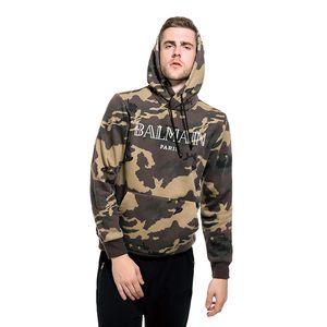 2020 Balmain Skate Homens Mulheres Balmain Designer camuflagem do exército uniforme casaco estilo tanque Casal Balmain justin bieber Clothes