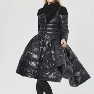 SHENGPALAE coton manteau veste vers le bas pour les femmes Stylisme 2018 parka d'hiver avec duvet de canard blanc camouflage Veste Manteau FU070