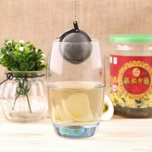 High quality Teaware Stainless Steel Mesh Tea Ball Infuser Strainer Sphere Locking Spice Tea Filter Filtration Herbal Ball Cup Drink Tools