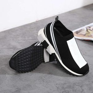 fashion shoes high quality slip-on casual shoes New arrive Fabric shoes size 35-44 Unisex Size model milan platform
