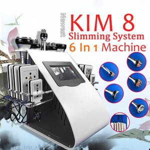 6 In 1 Ultraschall Kavitation Vakuum Explosive Geschwindigkeit Fett Kavitation Schlankheits-Schönheits-Maschine 40k RF-Gewicht-Verlust Ausrüstung