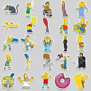 Aqk Lot Vinyl Funny Anime Cartoon Kids Stickers For Skateboard Luggage Laptop Guitar Fridge Bike Car Sticker Decals Pack Aqk UjQWp