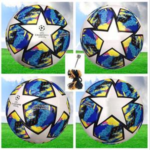 19 20 campeão europeu bola de futebol bola de alta qualidade tamanho 2019 2020 final KYIV PU 5 bolas grânulos antiderrapante futebol Frete grátis