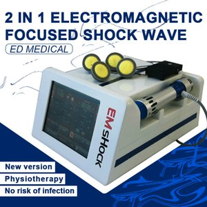 Prix ​​de gros Shock Wave EMS Cellulite traitement électrique Portable Shock Wave Therapy Machine de beauté Shock Wave