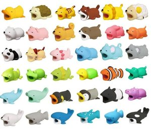 Phone Cable Protector Bite Cute Animal USB Charger Data Protection Cover Mini Wire Cord Accessories Creative