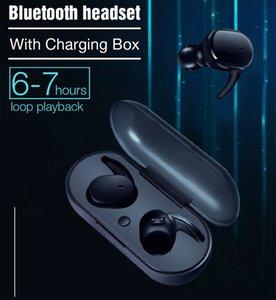 Cep Telefonu Kulaklık Şarj Kılıf TWS4 Kablosuz Kulaklık ile Y30 TWS Su geçirmez Bluetooth 5.0 Kulaklık Kulaklık Spor TWS Kulaklık