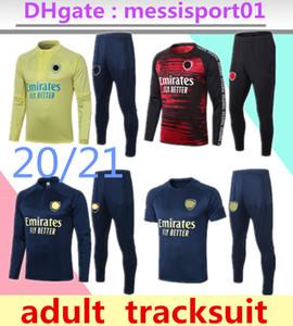 2020 2021 Arsen Männer Fußball-Trikots-Sets Tracksuits Sportswear Jersey 20 21 Trainings-Uniform Polohemd Trainingshose lang Kurzarm