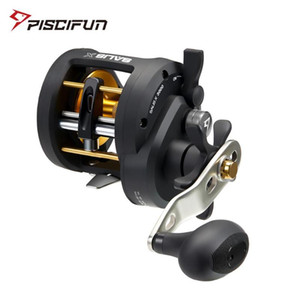 Piscifun Salis X Trolling Reel Saltwater Baitcasting Fishing Reel with Bait Clicker 6.2:1 Gear Ratio Up to 17KG Max Drag