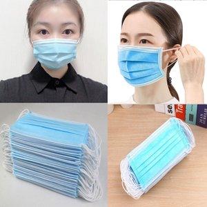 PPE máscaras maschera máscara respirar Mascarillas Daily capa de máscara de protección de la máscara contra la niebla a prueba de polvo no tejido de algodón mascarilla de lentejuelas