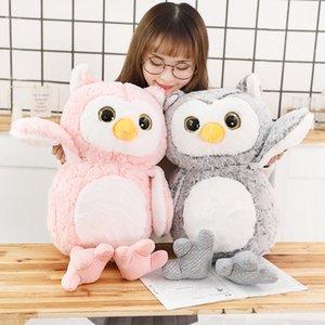 1pc 35 45 65CM New Creative Kawaii Owl Plush Toy Stuffed owl Animal Doll for Kids Baby Lovely Soft Pillow Birthday Xmas Gift