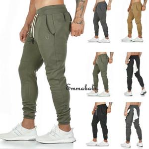 SICAK Erkekler Cep Dekorasyon İpli Yüksek Bel Pantolon Gündelik Sıska Koşu Koşucular Slim Fit Eşofman Pantolon Moda Sweat