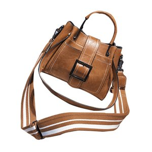 2020 handbags new oil wax leather motorcycle bag Messenger bag large capacity multi-functional cross-border supply