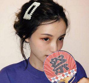 Ins волосы штыри чистый красный символ горячий Южная Корея жемчужина клип взрослых женщин клип бб зажим для волос