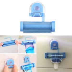 Distributeur de dentifrice à roulement pour presse - tube Porte - ventouse Crème dentaire Accessoires de salle de bain Distributeur manuel de pistolets à seringue