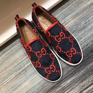 2020  DHL gucci men shoes zapatos de lona transpirable Classic Flat Calzado de hombres causales Nueva primavera verano zapatillas de deporte para
