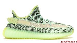2020 Kanye West Static Yeezreel Yecheil White Sesame Men Women Basketball Shoes Sneaker Bred Black Reflective Zebra Citrin Size 5-13