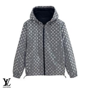 Mens Designer Jacke mit Kapuze Frühling Herbst Marke Reißverschluss Logo Windbreaker Stern Muster für Männer und Frauen Luxus Hoodie Mantel reflektierende Jacke