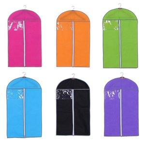 1 X COUVERTURE SACS Robe de mariée Vêtements de vêtements de stockage Porte-Sac Suit suspendu