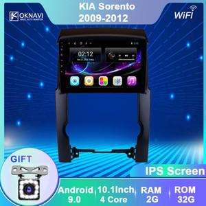 "OKNAVI 10.1 "" Android 9.0 Car GPS Navigation Radio For KIA Sorento 2009 2010 2011 2012 Multimedia Stereo Player Head Unit No DVD car dvd"