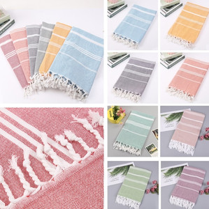 colorful Turkish towel Striped beach towels Cotton Bath Towels Gift Spa Gym Yoga Beach towel Toilet Supplies 100X180cm 4923