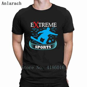 Snowboarding Extreme Sports T Shirt S-4XL New Fashion Summer Style Design Natural Interesting Letter Cotton Shirt