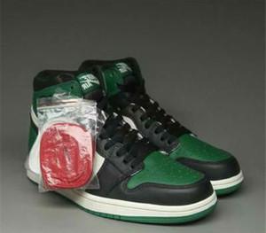1 Alta Travis Scotts destemidos homens obsidiana sapatos baixos basquete Spiderman 1s UNC Top 3 designersneakers homens esporte dedo do pé criados proibidos