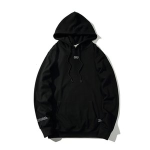 19SS OFF Fashion high-end sweater 3M reflective strips cordon limited men and women with the hoodie 721 0CTQ
