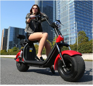 Electric car scooter double electric car motorcycle pedal battery car Max Speed 50 km h Range35-55km h