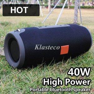 Большая открытой беспроводной Bluetooth колонка высокой мощность 40W Bluetooth спикер бас портативных колонки беспроводной altavoz bocina Bluetooth