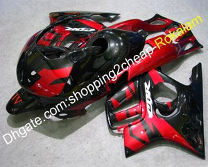 For Honda Fairings CBR600 F3 Parts CBR 600 97 98 CBRF3 CBR600F3 1997 1998 Red Black Motorcycle Fairing Aftermarket Kit (Injection molding)