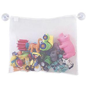 Copa do bebê crianças Banheira Toy Tidy armazenamento de sucção saco de malha de banho Organizer Net Organizer armazenamento sacos de armazenamento Toy