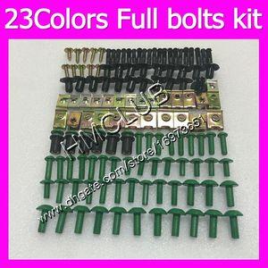 Fairing screws Full bolts kit For HONDA NSR250R MC18 PGM2 NSR 250R NSR250 R NSR250RR 88 89 1988 1989 MC92 OEM Body Nuts bolt screw Nut kit