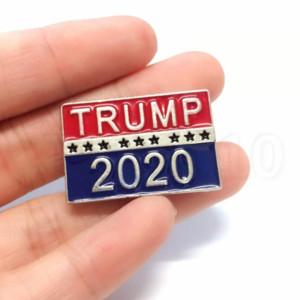 TRUMP 2020 배지 쿠폰 스타 입장권 포커 브로치 코트 재킷 배낭 옷깃 배지 핀 영화 부분 호의 T2C5051 쿨