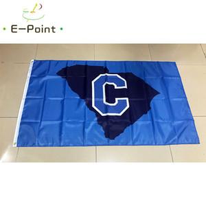 علم ncaa القلعة البلدغ البوليستر العلم 3ft * 5ft (150 سنتيمتر * 90 سنتيمتر) العلم راية الديكور تحلق المنزل gard