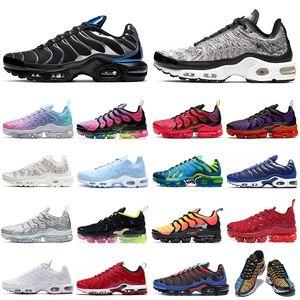 nike air max plus vapormax TN Artı Ultra SE Koşu Ayakkabıları Erkek Kadın Chaussures Üçlü Beyaz Siyah Sunburst erkek eğitmenler Spor Sneakers 36-45