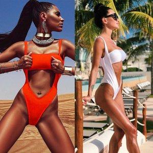 Sexy Brésilien Bikini Set 2018 été amovible Soutien-gorge rembourré Femmes Maillots de bain Pure Color Femmes Maillot de bain Maillot de bain New Style