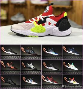 2019 New Designs Original Huarache E.D.G.E TXT QS Sports Running Trainers Zapatillaes Men Women Huaraches 7 EDGE Triple black white Sneakers