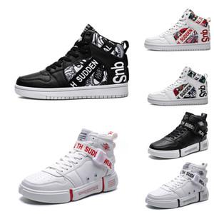 2020 Nuevo sin marca de moda zapatos de diseño Mujer Hombre Chaussures Rojo Blanco Negro Multi-Colores instructor para hombre de estilo deportivo zapatillas de deporte casuales 16