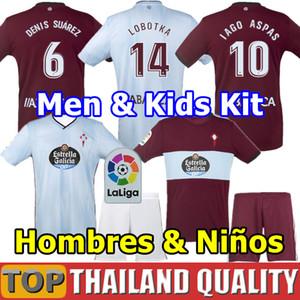 Üst Kalite 2019 RC Celta de Vigo futbol formaları 2020 LOBOTKA Iago Aspas Santl MINA Futbol Gömlek SISTO BOUFAL erkek çocuklar kiti üniforma