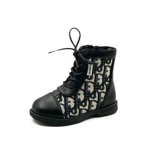 Stivali bambini fashion girls Martin scarpe stivali Kids Designer ragazze scarpe stivali bambino bambino Scarpe ragazza del progettista del bambino di avvio A8044 di vendita al dettaglio