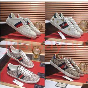 GUCCI  diseñador para mujer para hombre zapatillas de deporte low top plano ocasional diseñador de los hombres la zapatilla de deporte al aire libre unisex de conducción