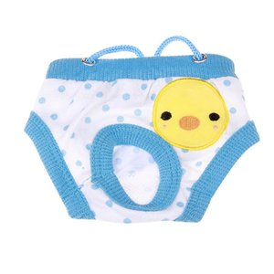 Pet Puppy Dog Washable Diaper Underwear Cotton Shorts Sanitary Dogs Hygiene Physiological Pant Panties Dog Briefs Trousers
