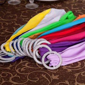 600pcs Wedding Chair Cover Sash Bands Wedding Party Birthday Chair Buckle Sashe Home Party Decoration 1000pcs T1I1799