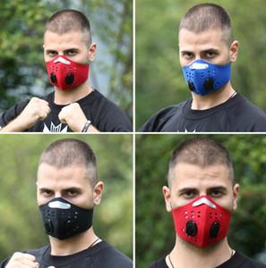 Maschera di guida pm2.5 Maschera mezza faccia della mascherina respirabile antipolvere respirabile del carbonio dello smog libera il trasporto