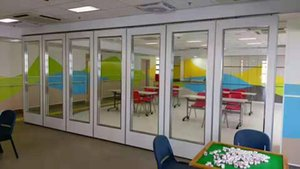 meeting room folding door  school movable wall movable partition operable wall glass partition  acoustic partition wholesale