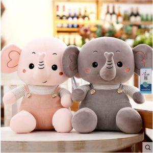 Plush Elephant Toy Kids Sleeping Back Cushion Soft Cute Appease Elephant Pillow Animals Plush Stuffed Toys Baby Accompany Doll