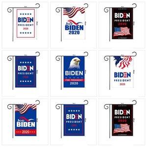 JOE Biden 2020 Bahçe Bayrağı 45 * 30CM Amerikan Başkanı Seçim Bayrağı Biden 2020 Bayrak Biden Seçim Banner ZZA2254 600pcs